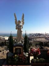 De begraafplaats
