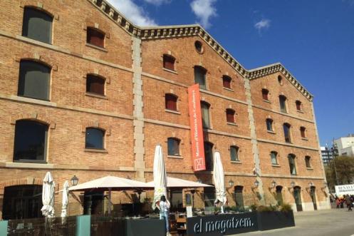 Museu D'Història de Catalunya buitenkant