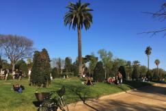 uitrusten en picknicken in Parc de la Ciutadella