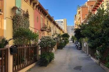 Passatge de la Tubella in de wijk Les Corts in Barcelona