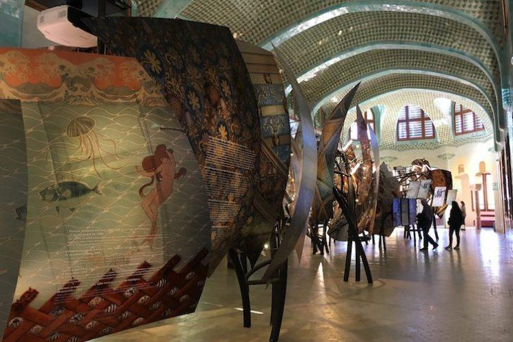 expositie paviljoen sant salvador