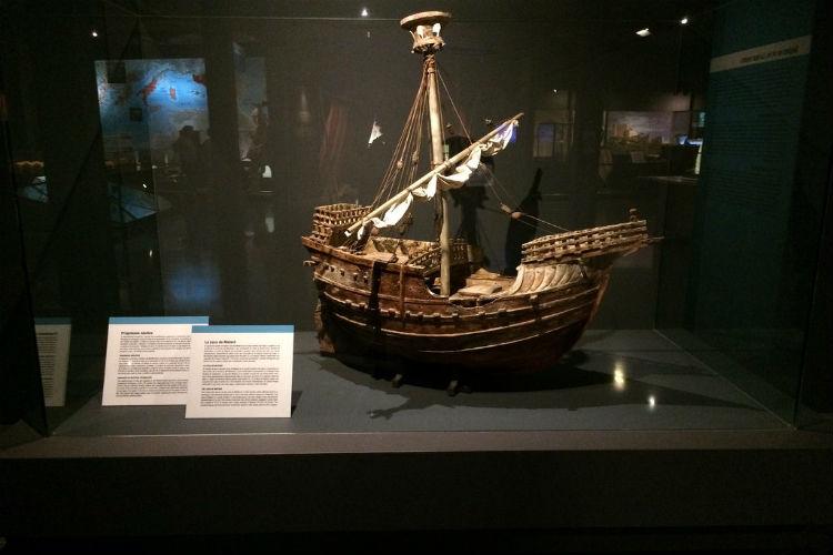 Foto Museu d'Història de Catalunya schip