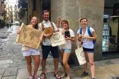 the explorer team in Barcelona