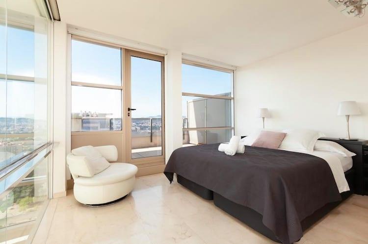 Penthouse aan het strand van Barcelona