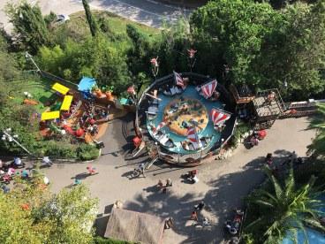 tibidabo pretpark overview