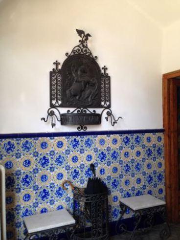 Binnen in Torre Bellesguard