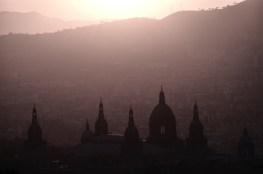 Uitzicht vanaf Montjuic Barcelona