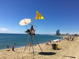 strandwacht Barceloneta