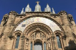 Kathedraal tibidabo