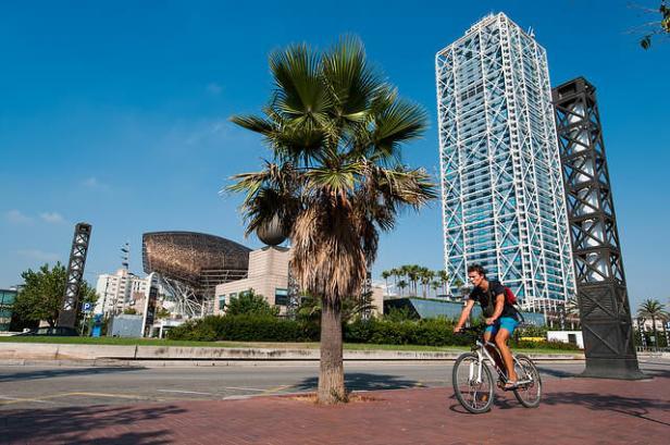 fiets vila olimpica