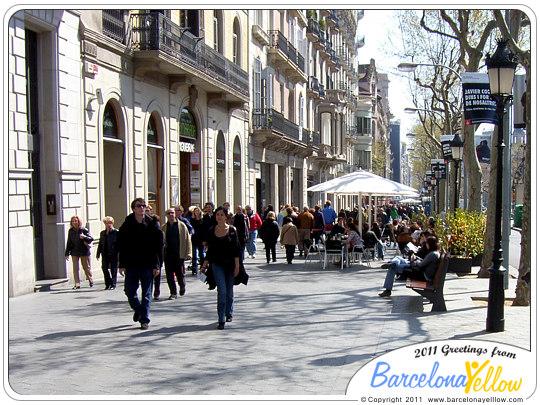 Barcelona 2019  Pictures Passeig de Gracia