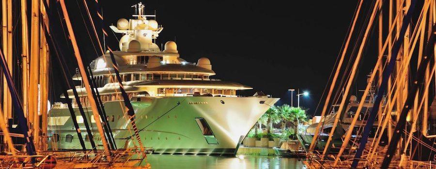 barche a motore dilbar mega yacht