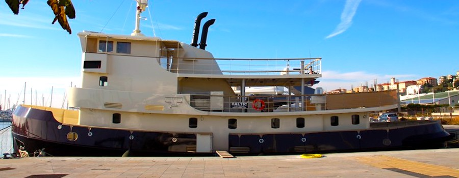 barca baltic motore