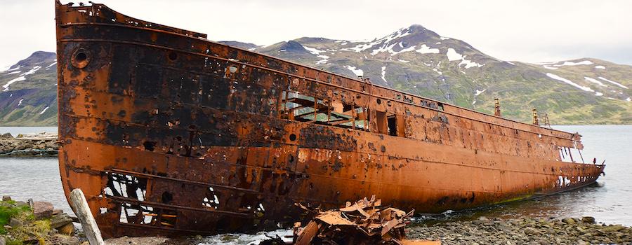barche a motore relitti 1