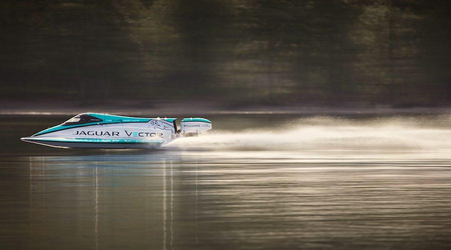 fastest electric boat jaguar
