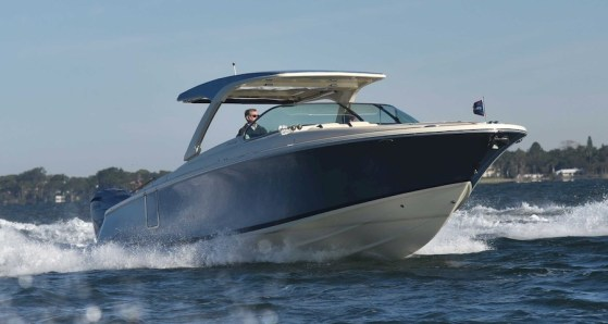Chris Craft 35 GT Launch