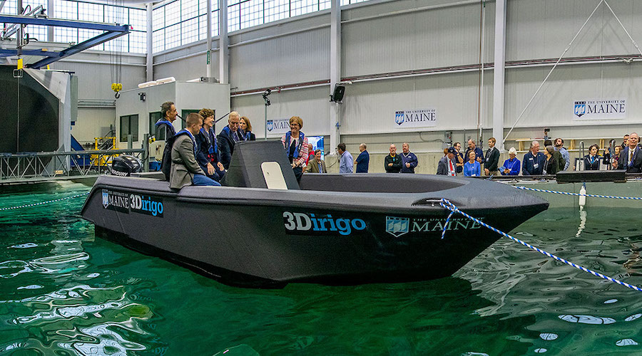 The biggest boat ever printed