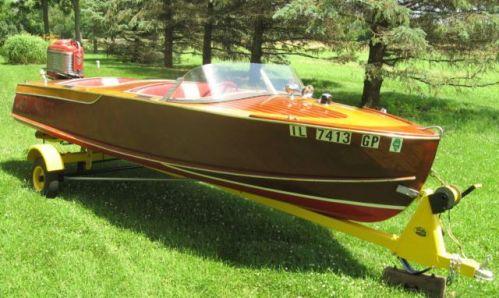 barca usata col carrello