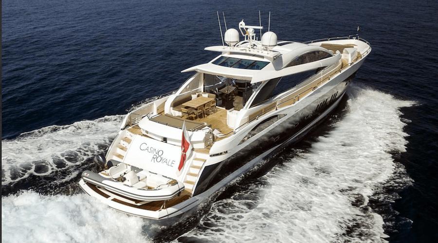 yacht james bond casino royale