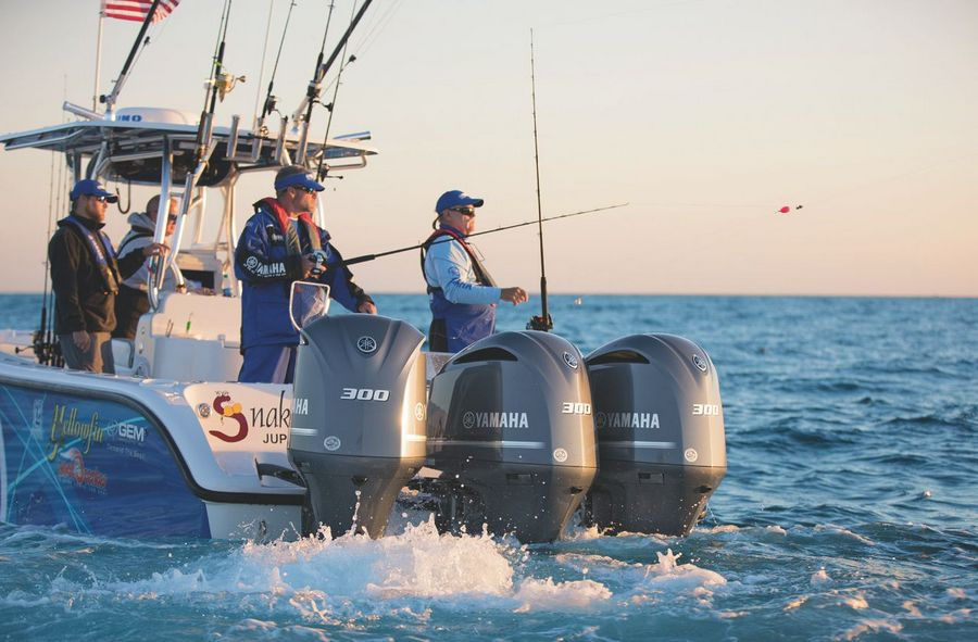 yamaha helm master fishing