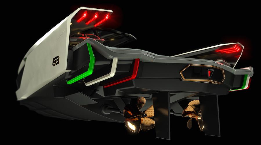 Tecnomar for Lamborghini 63 sotto