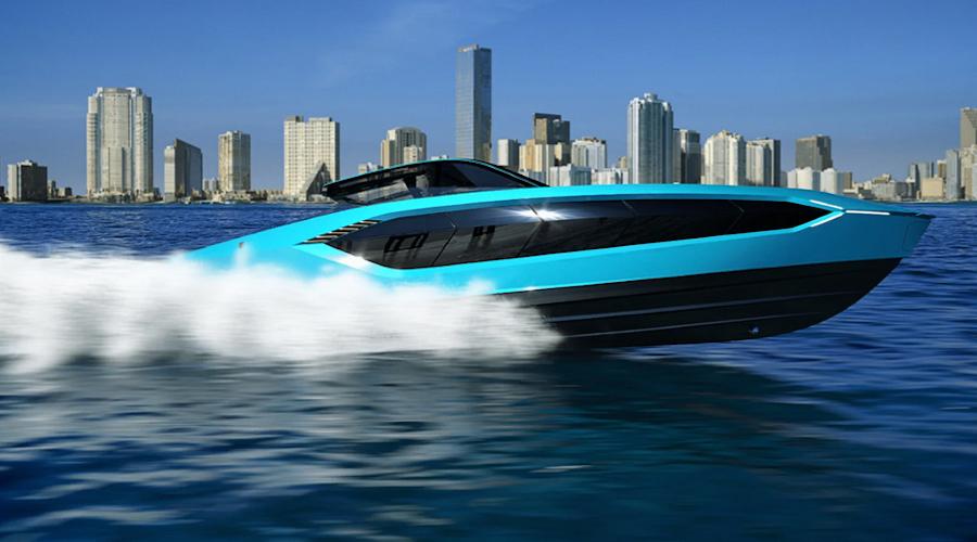 Lamborghini barche a motore