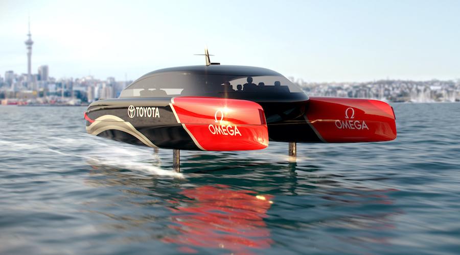Barche a idrogeno: la proposta di Team New Zealand