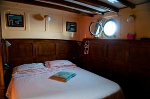 Coralisle, la cabina doppia armatoriale