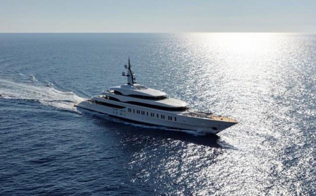 Benetti Giga yacht FB