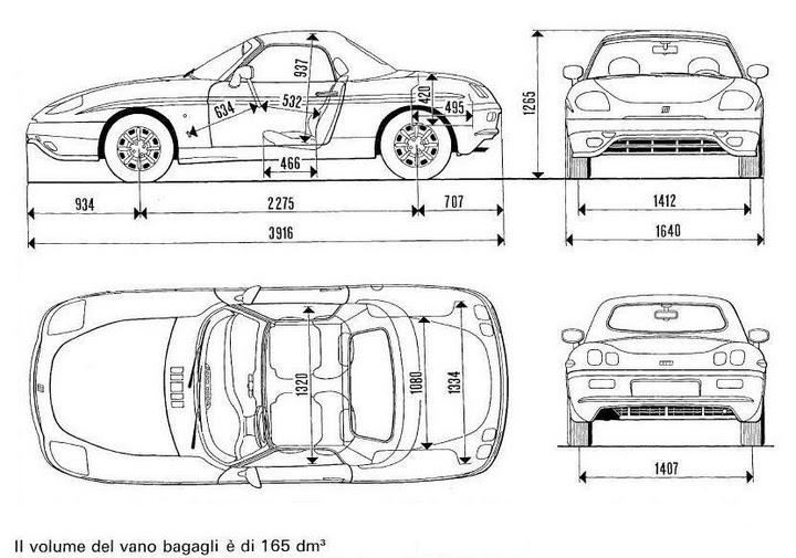 Fiat 100 90 Scheda Tecnica