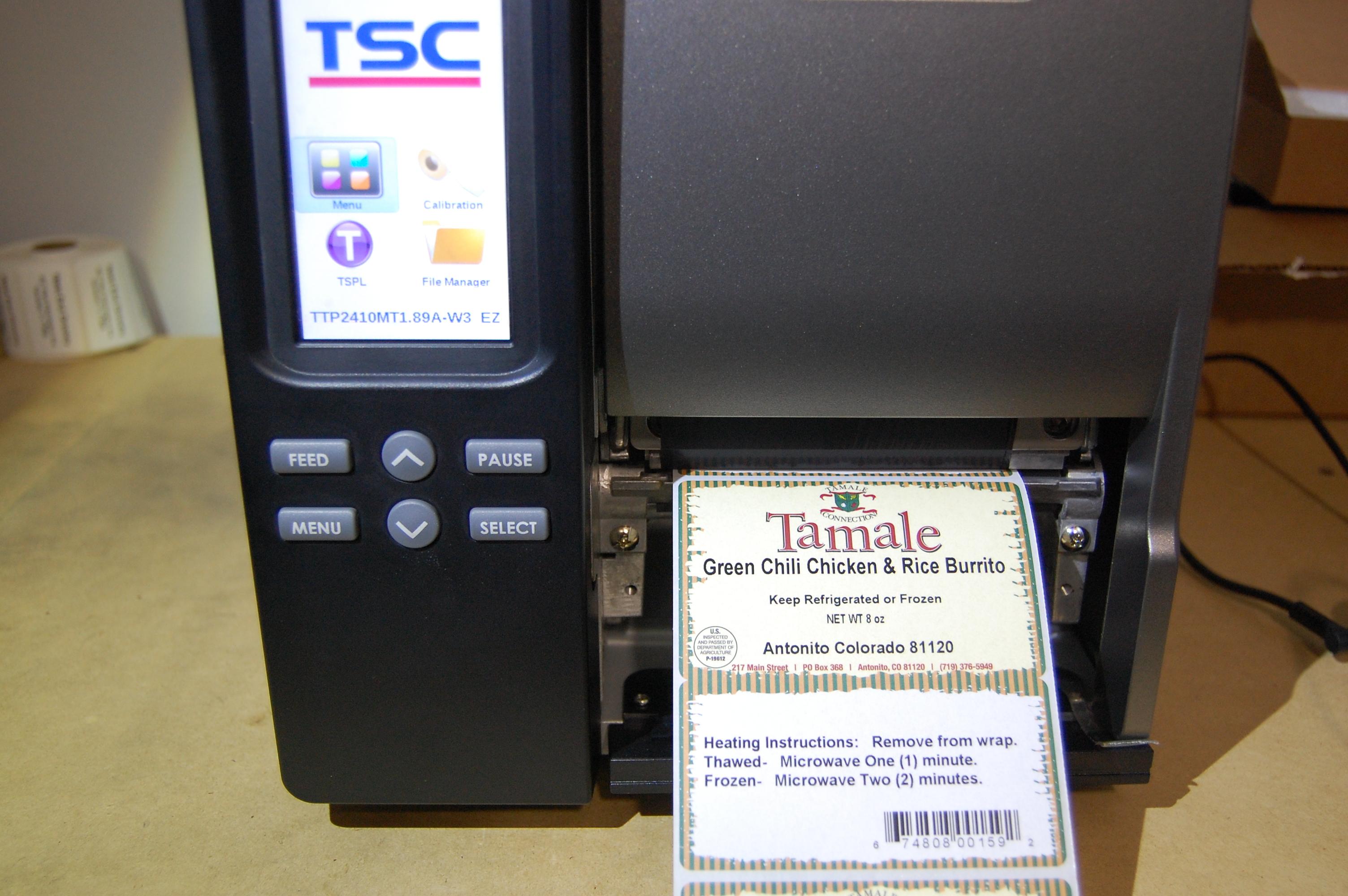 TSC Menu Settings