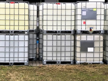 IBC Totes Outdoors-Barcode Southwest