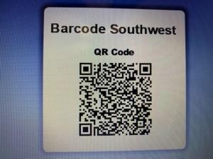 2-D QR Barcode Image-Barcode Southwest