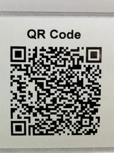 Example QR Label Code -TSC 324 Wristband Printer-Barcode Southwest
