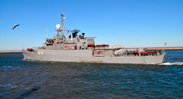 Barcos de guerra argentinos