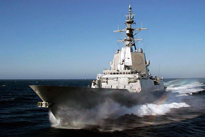 Barcos de guerra españoles actuales