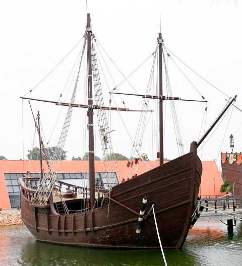 Barcos de vela antiguos
