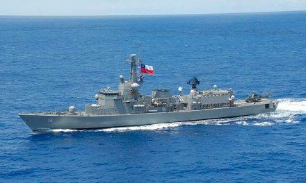 Barcos de guerra chilenos