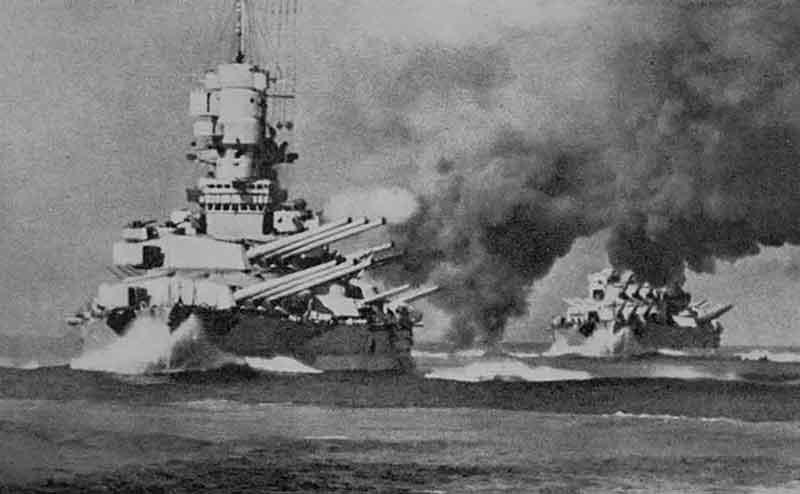 Batallas del acorazado Yamato