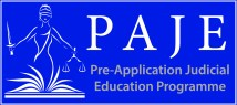 Pre-application judicial education programme (PAJE)