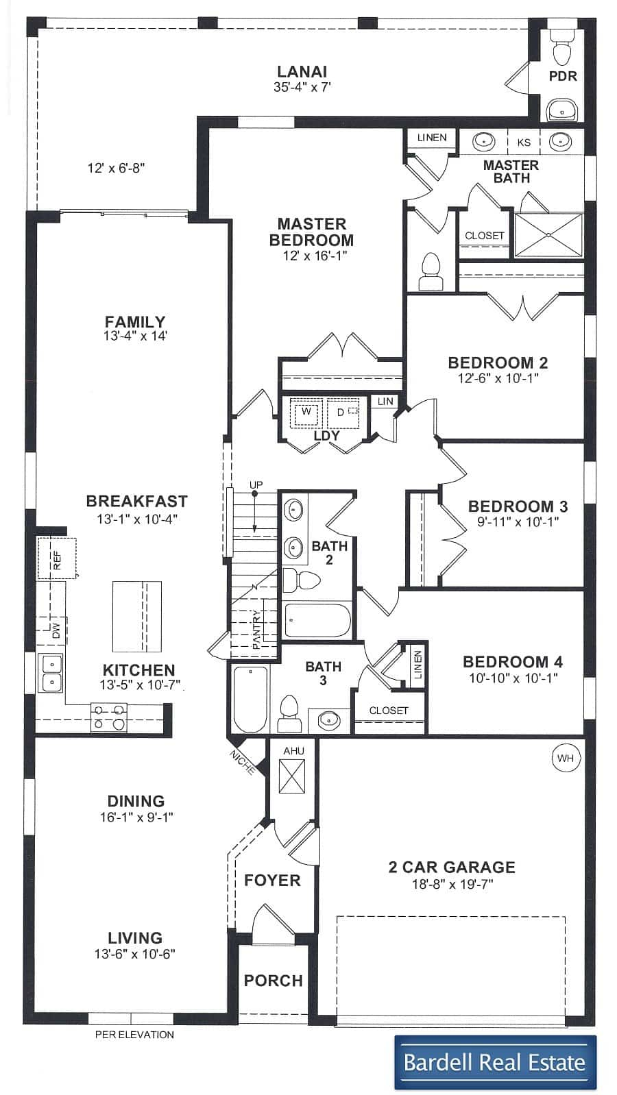The St. Augustine Floor Plan at The Dales