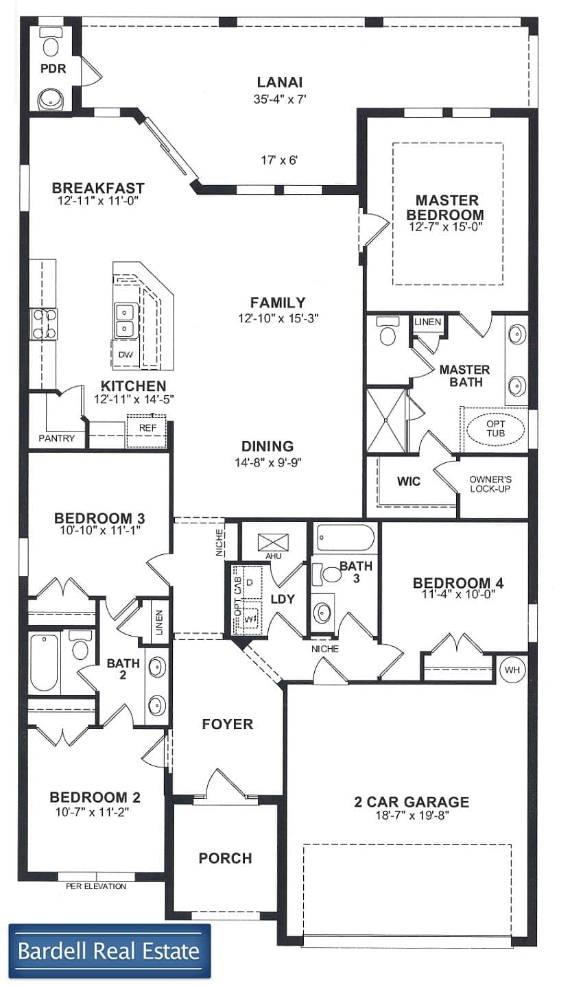 The Jessup Floor Plan at The Dales