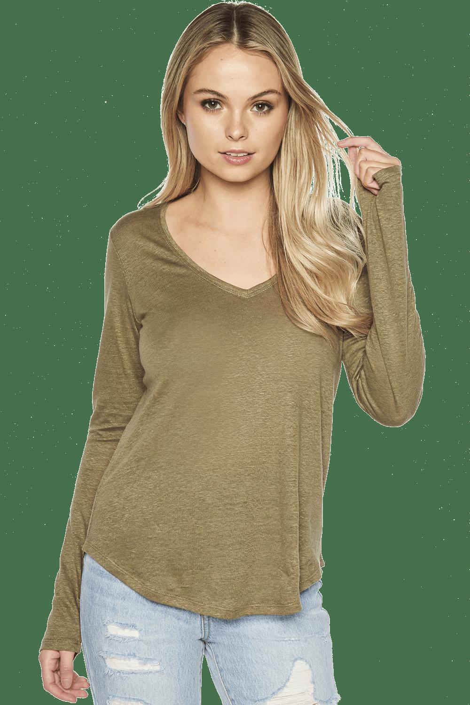 Charlotte Long Sleeve Top Ladies Sale Clothing Bardot