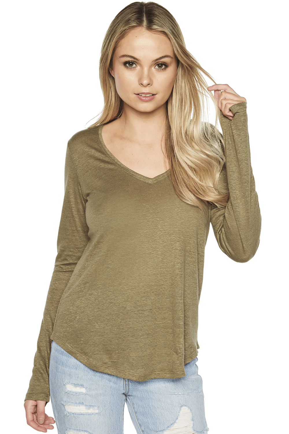Charlotte Long Sleeve Top Ladies Sale Clothing Bardot