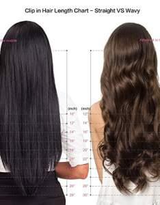 Clip in remy human hair extensions inch wavy curly extension  brazilian for black women body wave also rh bardotbrigitte