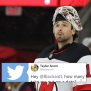 Devils Goalie Keith Kinkaid Responded To A Fan Asking Him