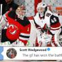 Devils Goaltender Keith Kinkaid Roasted His Former