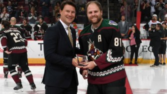 Image result for arizona coyotes alternate jersey 2019 kessel