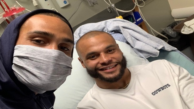 Patriots prescott suffered a strain to his right. Dak Prescott's brother shared a positive update from his hospital room - Article - Bardown