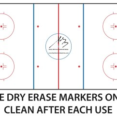 Hockey Rink Diagram Wiring For Motorcycle Alarm  Coaches Board Bar Down Enterprise